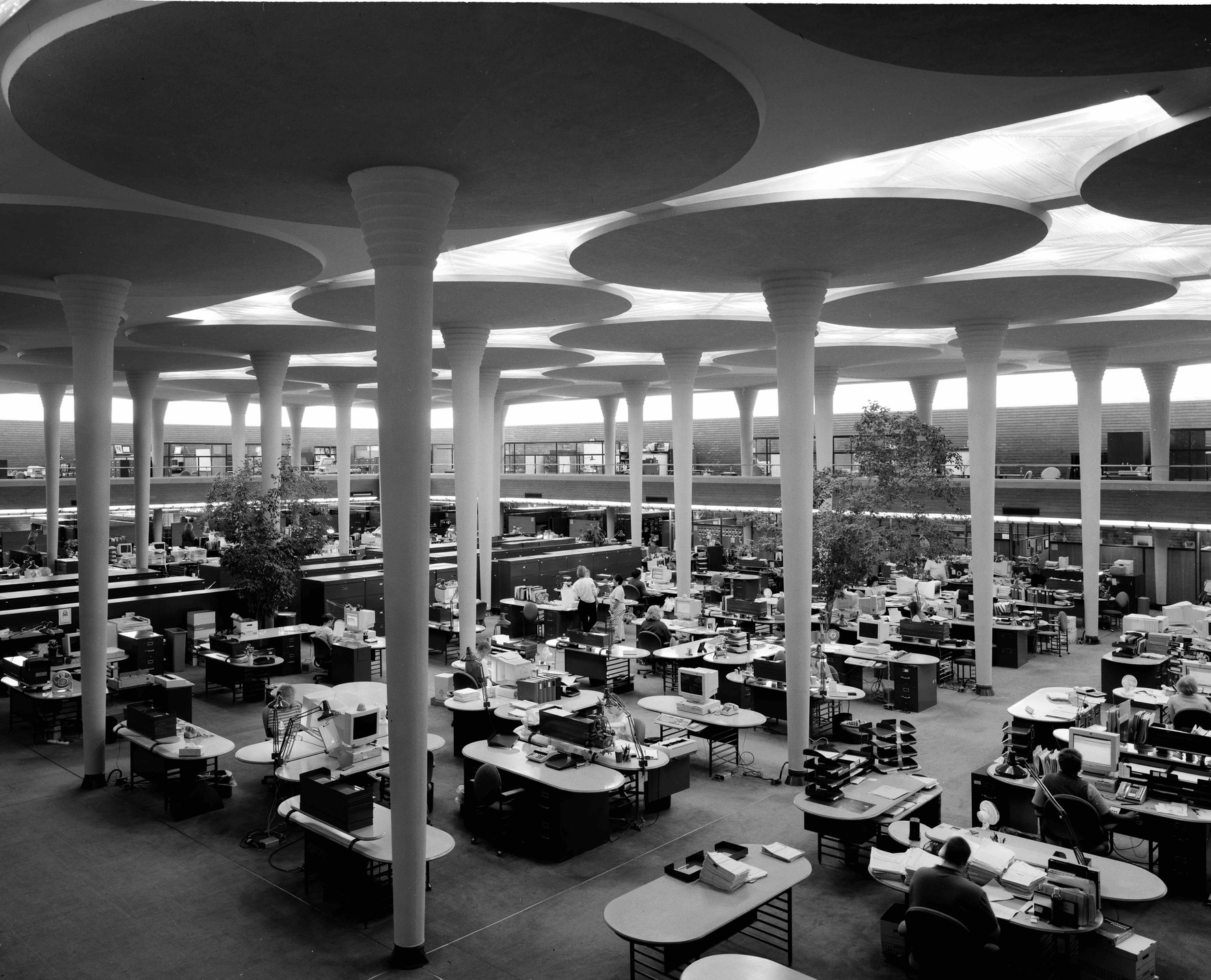 Johnson Wax Headquarters / Getty Images
