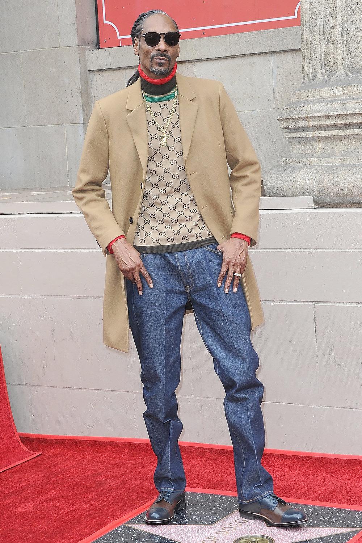 Снуп Догг наоткрытии своей звезда наАллее славы вГолливуде