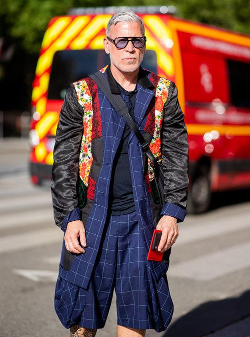 Ник Вустер наНеделе мужской моды вПариже