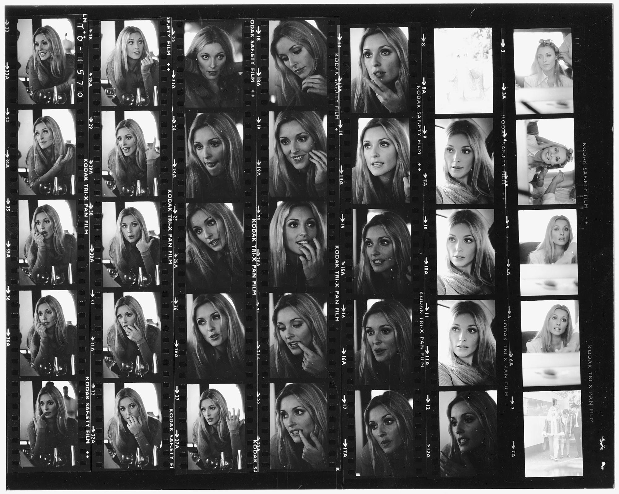 Портреты Шерон Тейт, сделанные ориентировочно в1968 году.