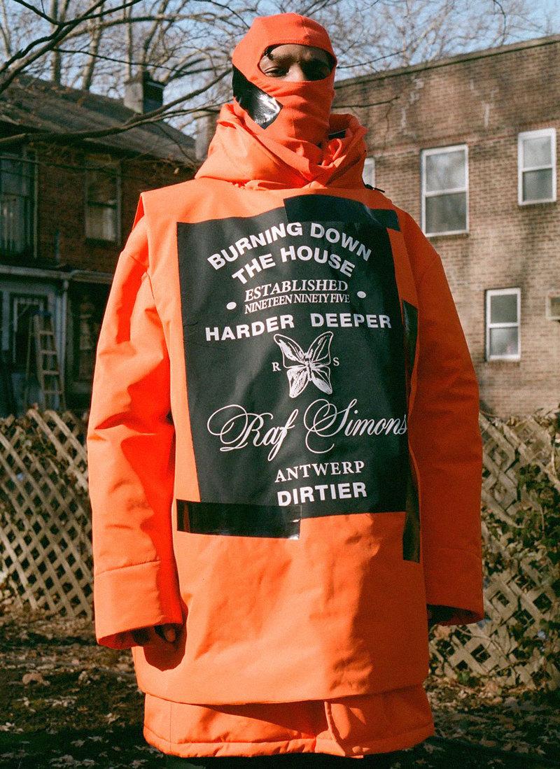 Раф Симонс создал коллекцию вместе с маркой Templa. В лукбуке снялся A$AP Rocky | Журнал Esquire.ru