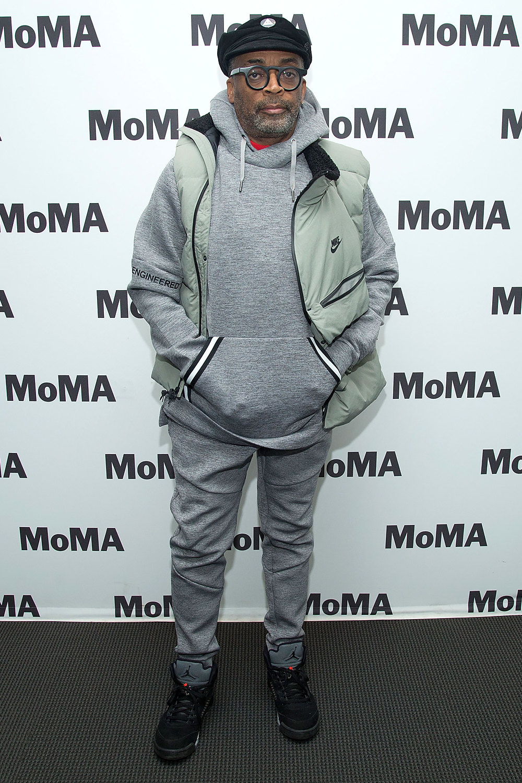 Спайк Ли напоказе фильма «Черный клановец» вMoMA