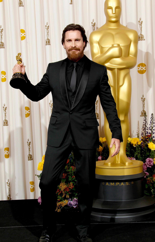 Кристиан Бейл на«Оскаре», 2011