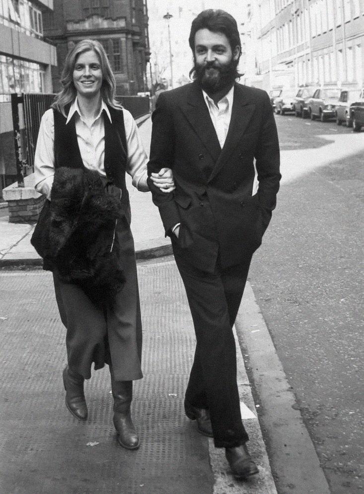 Линда иПол Маккартни, 1971