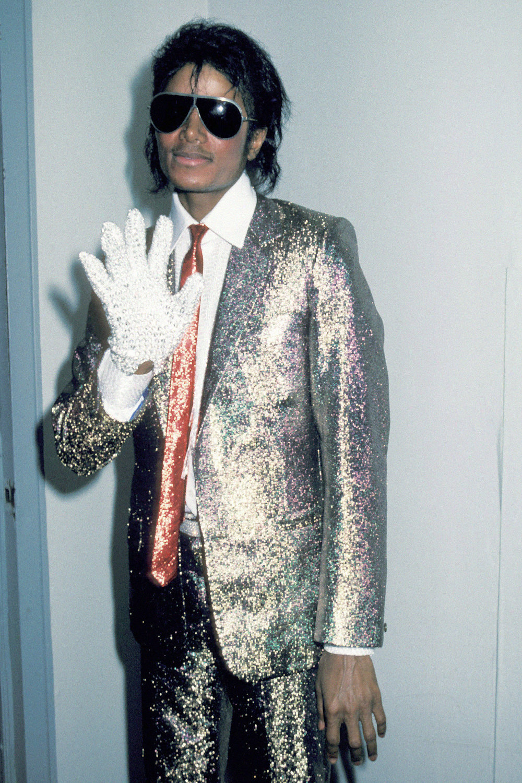 Майкл Джексон, апрель 1984