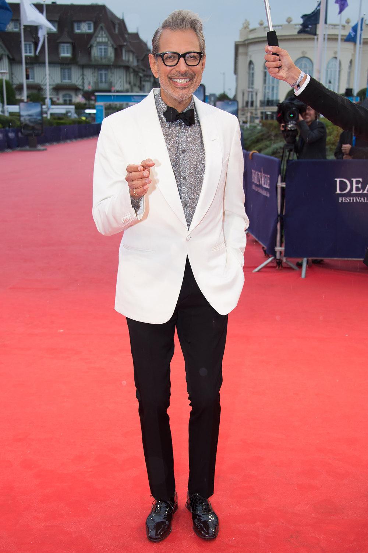 Джефф Голдблюм напремьере фильма « Похищение» на43 Фестивале американского кино вДовиле
