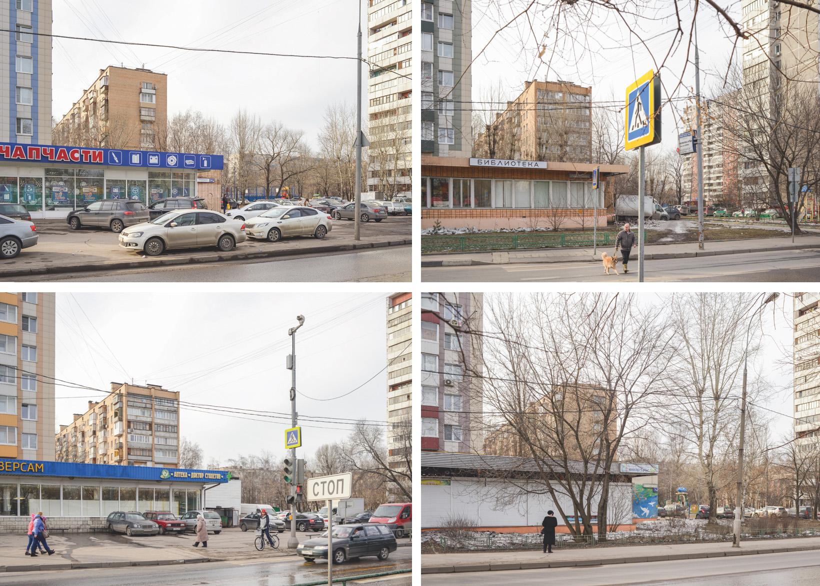 ул. Сталеваров, 14, 16, 18, 22