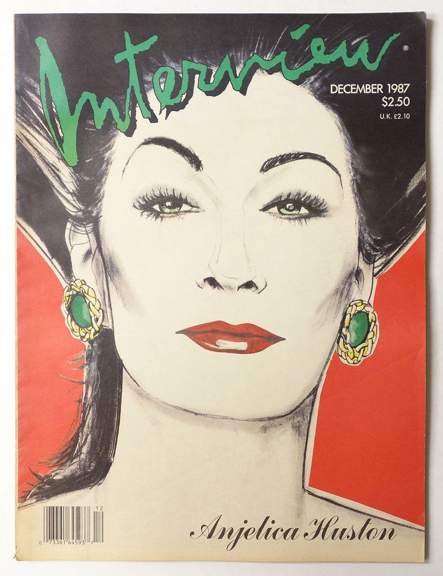 Анжелика Хастон, декабрь 1987 год