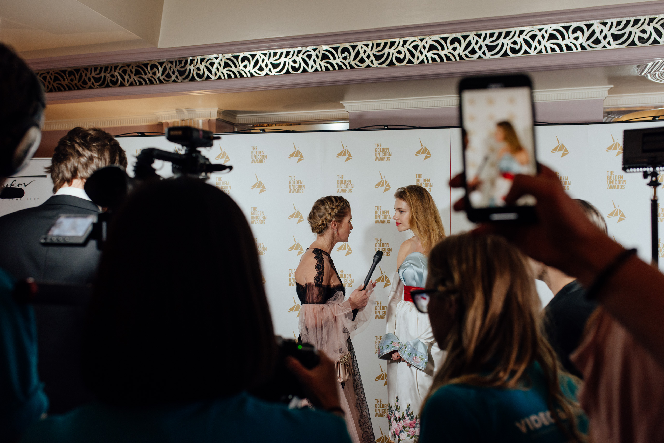 Наталья Водянова наRussian Film Week 2018