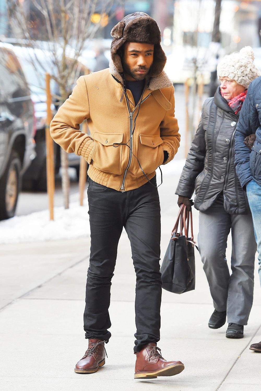 Дональд вGucci вНью-Йорке, февраль 2015