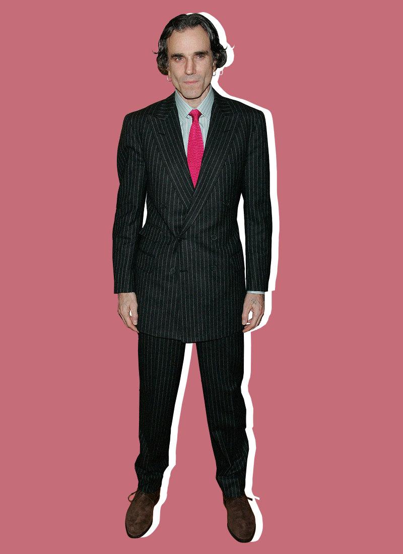 Дэниел Дэй-Льюис напремьере фильма «Нефть» вПариже, февраль 2008