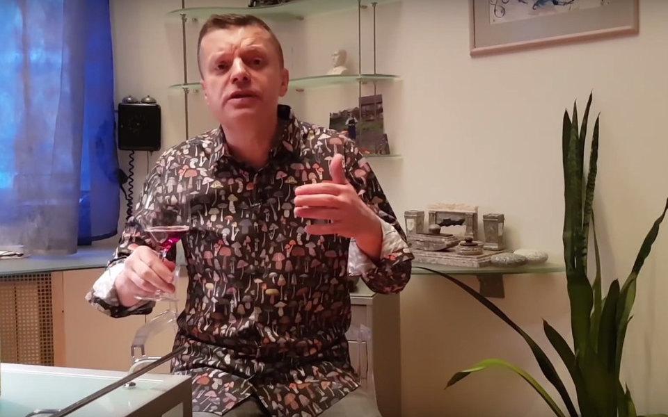 Леонид Парфенов запустил насвоем YouTube-канале еженедельное шоу «Парфенон»