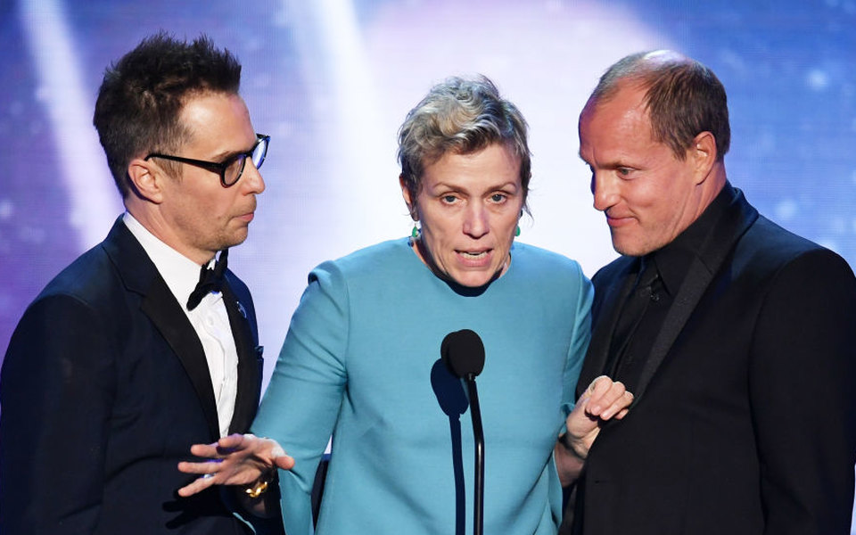 «Три билборда награнице Эббинга, Миссури» получил главную награду Гильдии киноактеров США