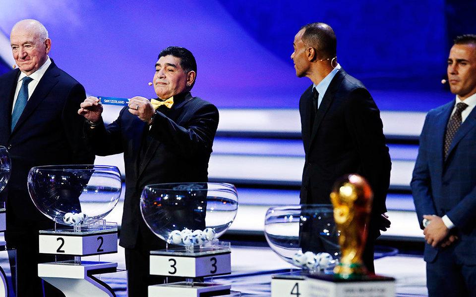 Россия проведет первый матч чемпионата мира пофутболу против Саудовской Аравии