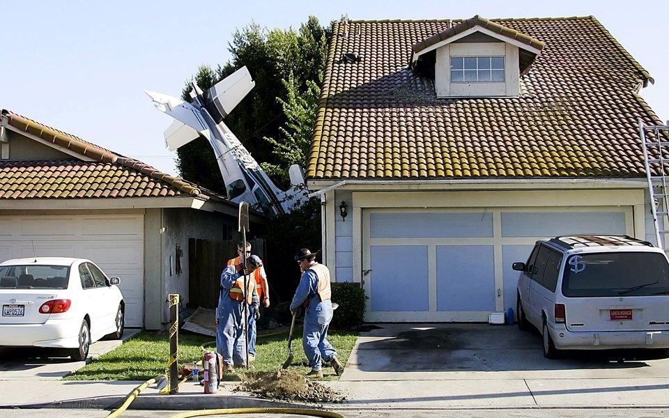 Каково это — врезаться вдом насамолете, икаково это — когда втвой дом врезается самолет