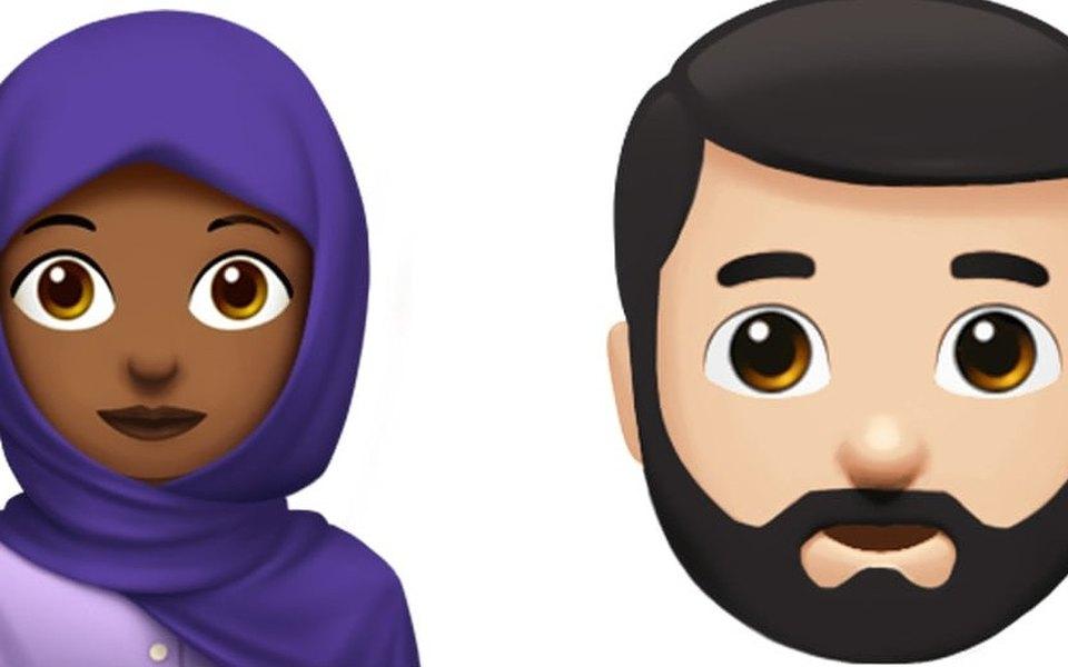 Apple вводит новые эмодзи: мусульманки, кормящей женщины идругие