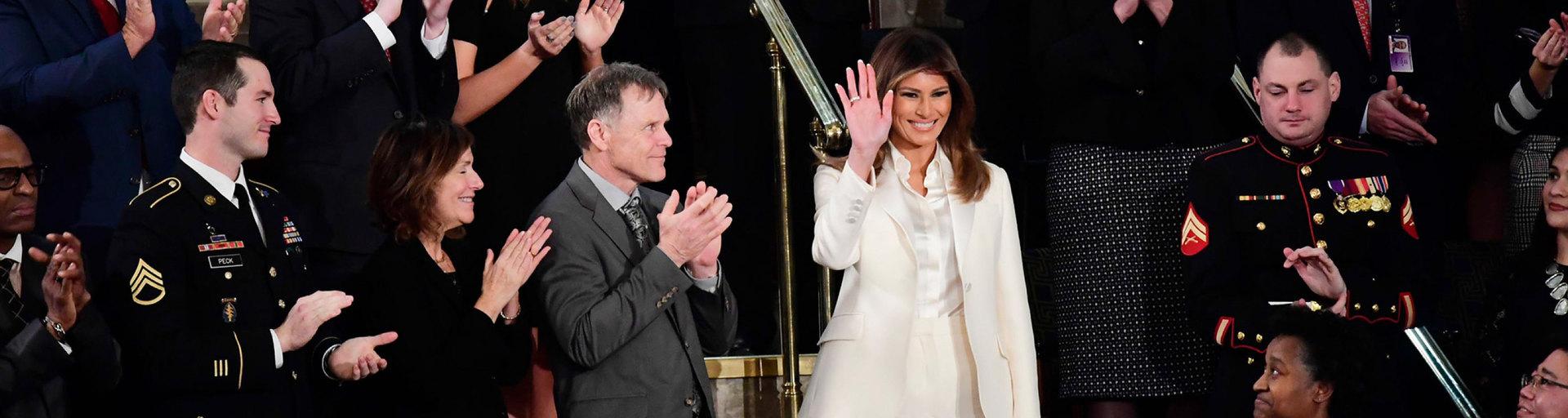 Гид: как Мелания Трамп выражает свое отношение кполитике ипоступкам мужа