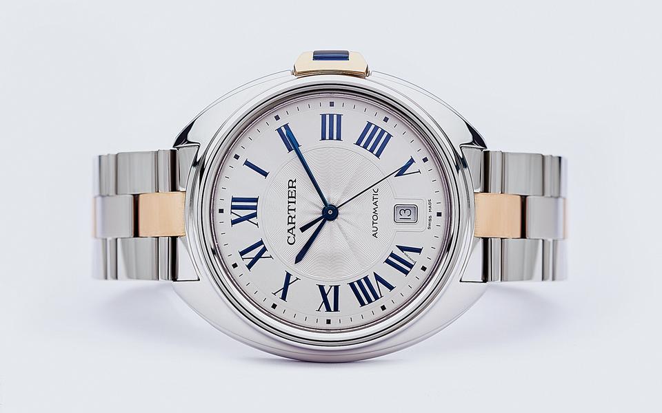 Гардероб: часы Cle de Cartier