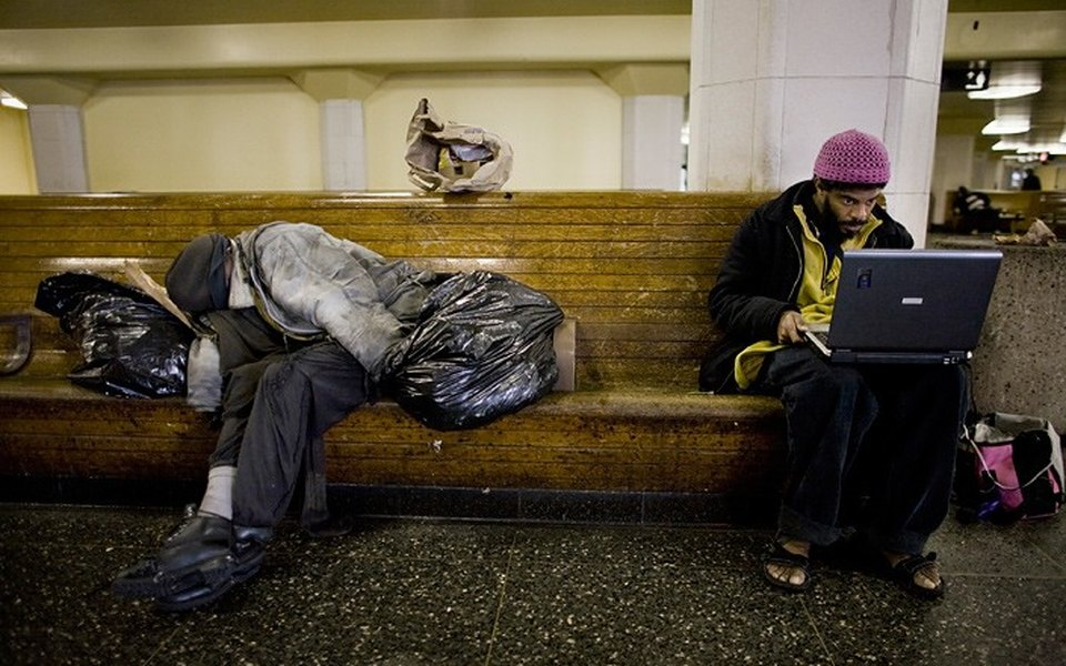 Дневники американских ианглийских бездомных