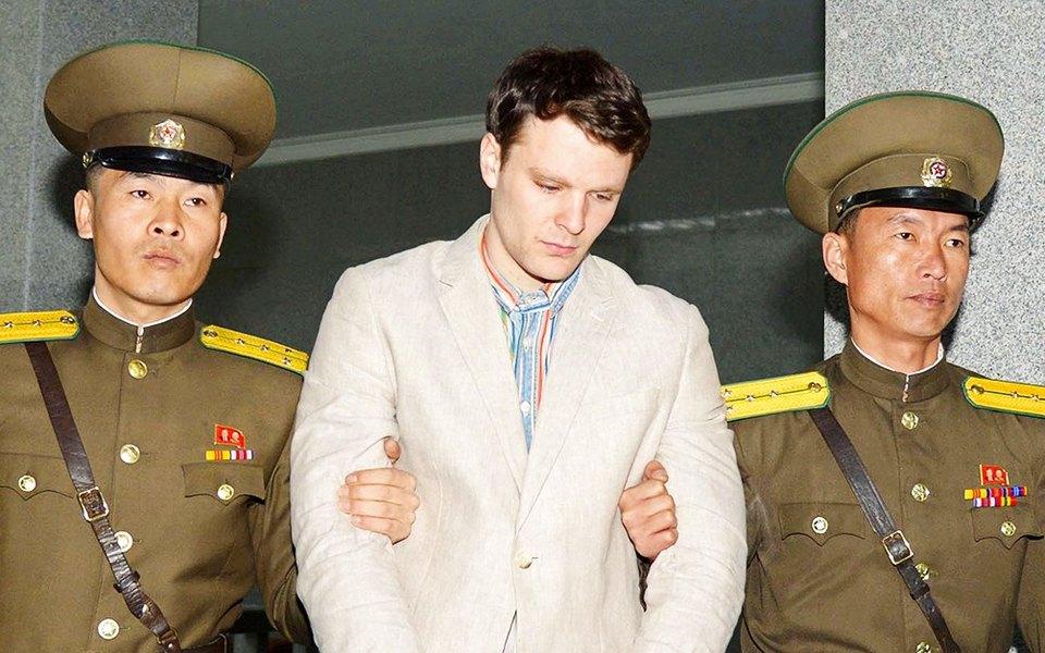 Родители Отто Вомбиера заявили, что их сына жестоко пытали вСеверной Корее