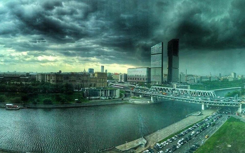 Ураган вМоскве