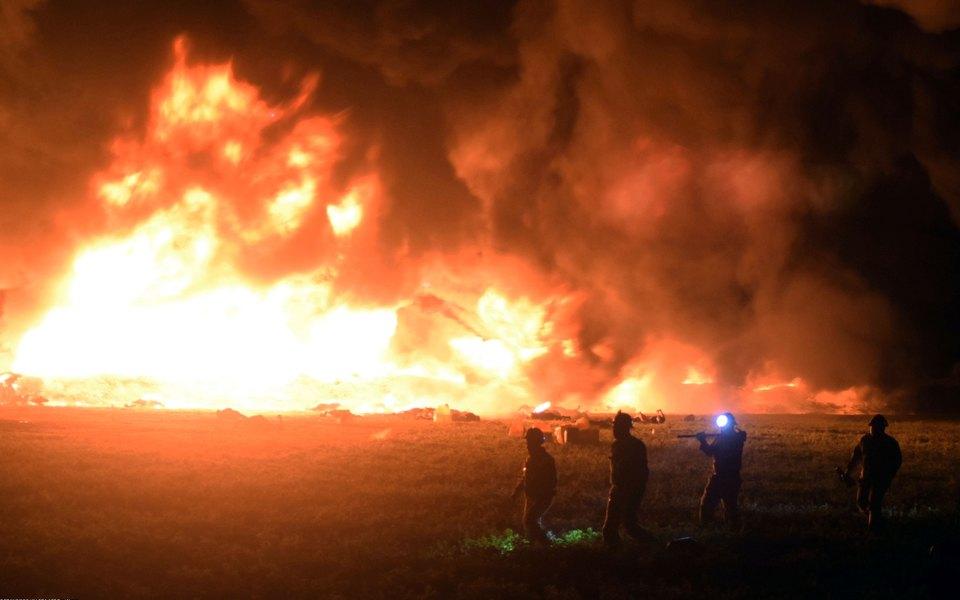 В Мексике взорвался трубопровод. Погибли более 70 человек