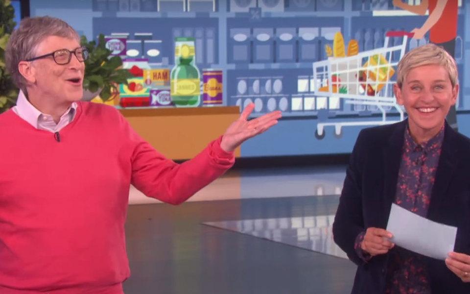 Билл Гейтс угадывает цены напродукты. Он очень давно небыл всупермаркете