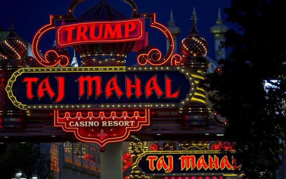 В Атлантик-Сити началась распродажа имущества казино Трампа «Тадж-Махал»