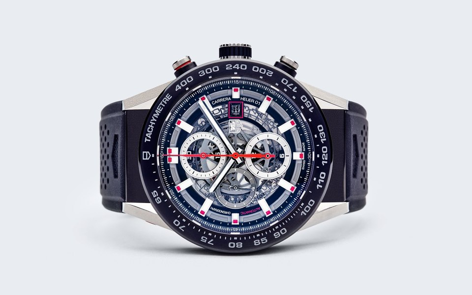 Гардероб: часы TAG Heuer Carrera Calibre Heuer 01