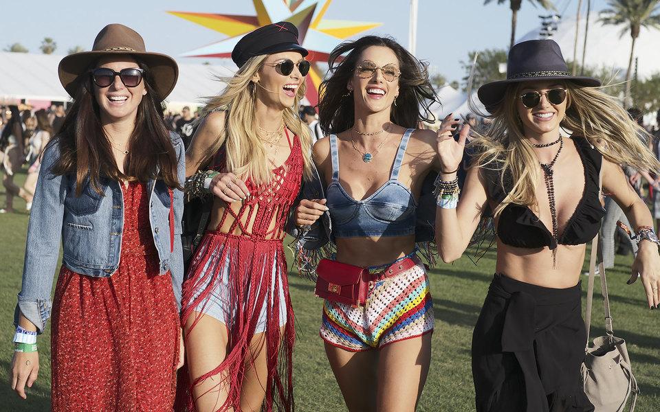 Лучшие образы сфестиваля Coachella 2018