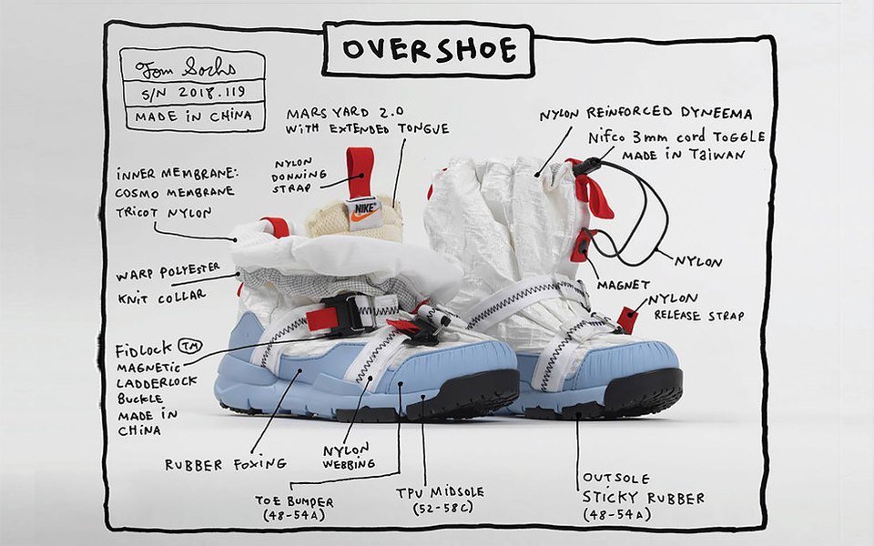 Для тех, кто мечтал стать космонавтом: художник Том Сакс создал кроссовки-марсоходы вместе сNike