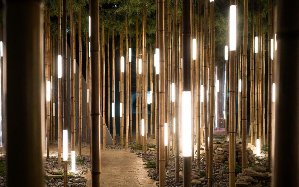 Посмотрите наинтерактивную инсталляцию, которую Sila Sveta построили впространстве Lexus Dome