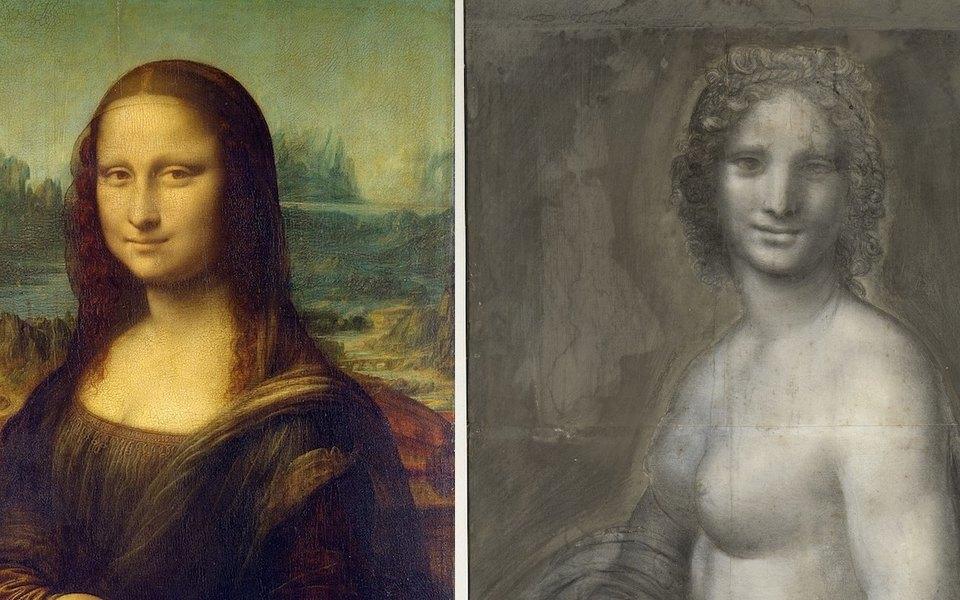 Французские ученые месяц изучают «обнаженную Мону Лизу». Ее мог написать Леонардо да Винчи