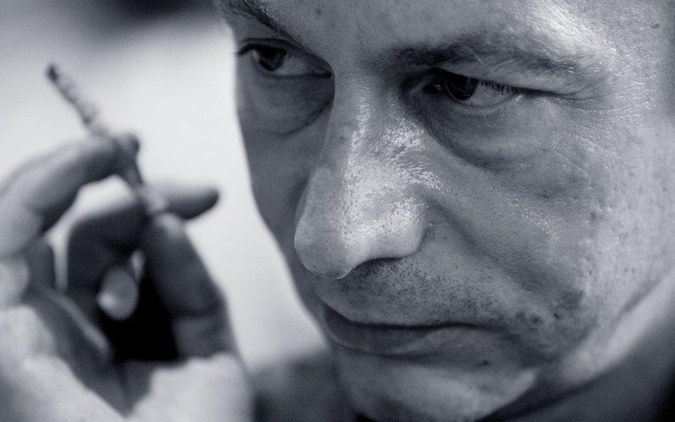 Фредерик Бегбедер берет интервью уМишеля Уэльбека