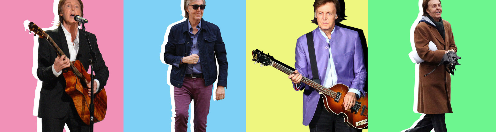 Что носил иносит музыкант Пол Маккартни, чей стиль сгодами только лучше