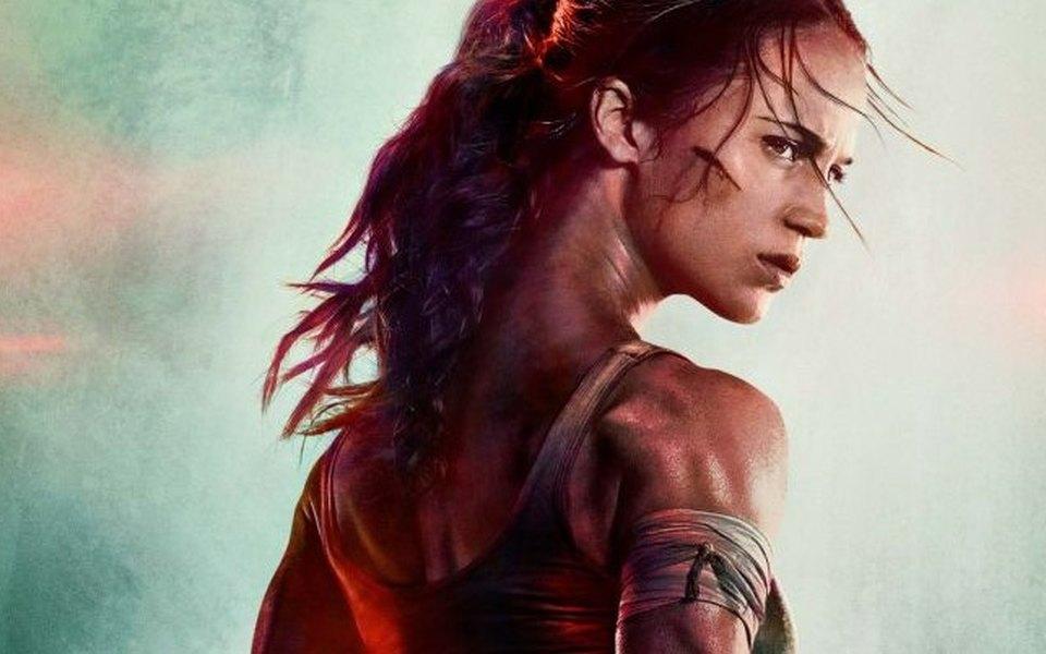 Постер кновому Tomb Raider стал мемом
