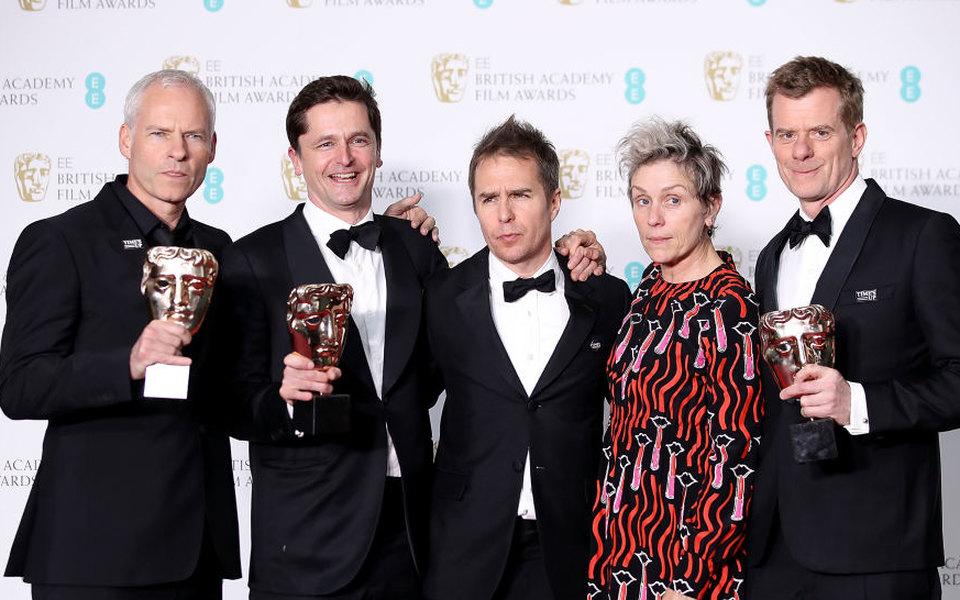 Драма «Три билборда награнице Эббинга, Миссури» стала триумфатором BAFTA
