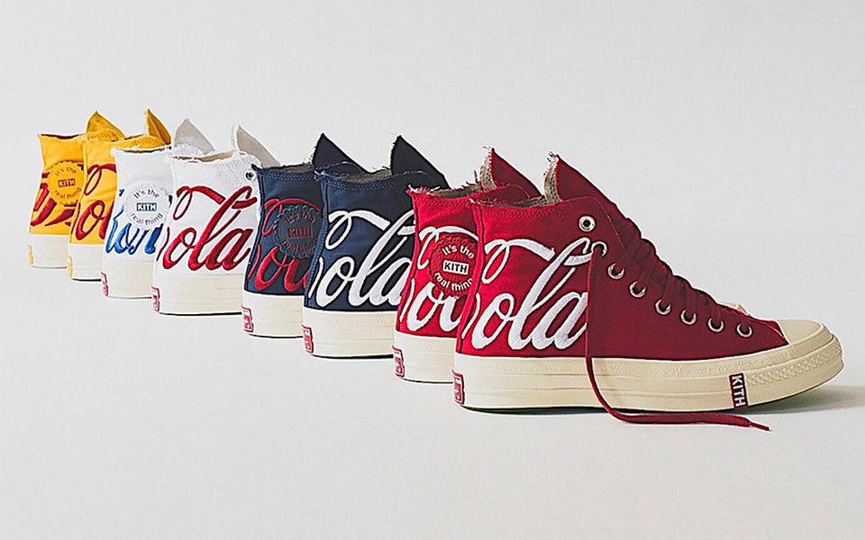 Converse выпустили совместную коллекцию сCoca-Cola