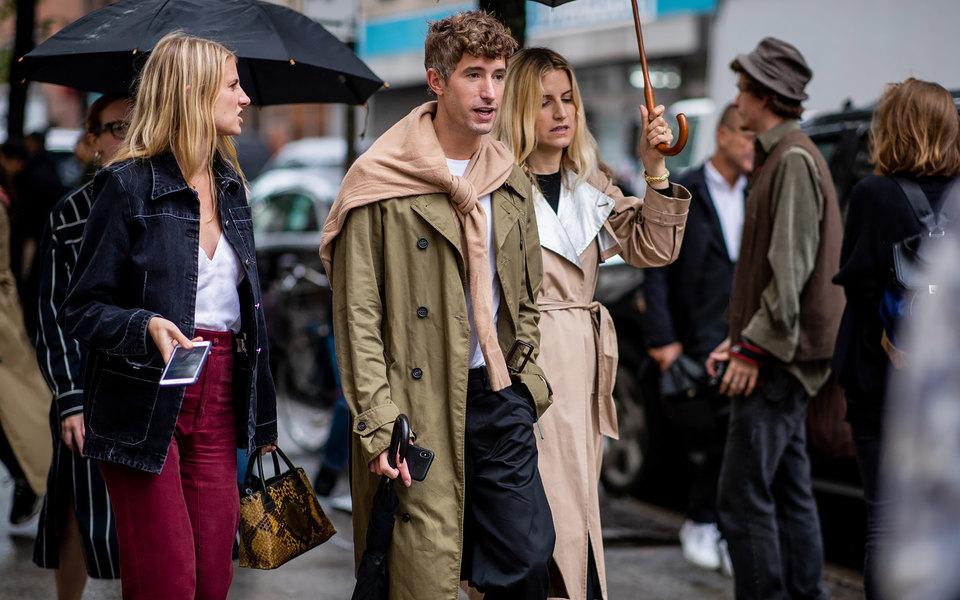 Стритстайл наНеделе моды вНью-Йорке